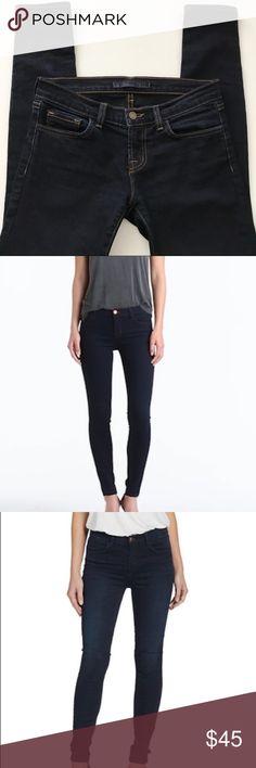 J Brand Dark Wash Skinny Jeans J Brand Dark Wash Skinny Jeans - 26. J Brand Jeans Skinny