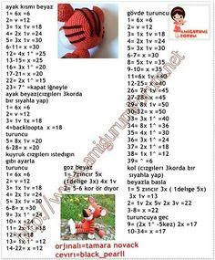 Crochet Animal Amigurumi, Amigurumi Patterns, Crochet Animals, Doll Patterns, Amigurumi Toys, Crochet Yarn, Crochet Toys, Cat Crafts, Diy And Crafts