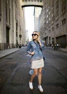 Damsel in Dior | Stripes in NYC