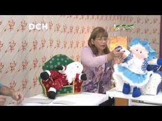 Ribbon Embroidery, Xmas, Christmas, Ideas Para, Doll Clothes, Diy And Crafts, Toddler Bed, Pin Up, Santa