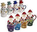Temp-tations Traditions set of 4 Snowman or Santa Mugs