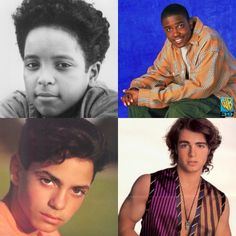 Brandon Adams, Jason Weaver, Mike Victar, & Joey Lawrence guys of the 80s/90s