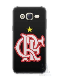 Capa Capinha Samsung J7 Time Flamengo #10