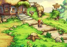 One of the best games from the late 90's, with the best music: Legend of Mana Playstation