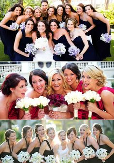 10 Must-Have Wedding Photos with The Girls (PIN now, Read later!)