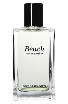 Free shipping and returns on Bobbi Brown 'beach' Eau de Parfum at Nordstrom.com. The same scent, but with a new look, Bobbi's best-selling fragrance gets an update in a sleek bottle. Designed with a lightly intoxicating blend of sand, jasmine, sea spray and mandarin, beach captures the atmosphere and attitude of summer.