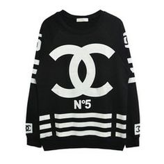 Chanelesque COCO N.5 Homme+Femme Jersey Sweater