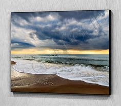 SILVER LINING  ( Ready to hang wooden photo / art panel)