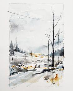 Elisabeth Biström watercolor Watercolors, Graphics, Graphic Design, Outdoor, Instagram, Art, Outdoors, Art Background, Water Colors