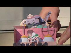 """A kinetic paper model kit I just created, showing the boiler room scene, in honor of the great Miyazaki anime film, """"Spirited Away"""". From time to time I will..."""