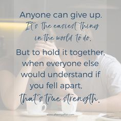 true strength is holding it together when everyone else understands if you didn't. Marriage Relationship, Relationships, Infidelity Quotes, Affair Quotes, Relapse Prevention, Inspirational Message, Everyone Else, Betrayal, Giving Up