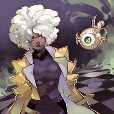 Alchemist - Pyromancer by MizaelTengu on DeviantArt Female Character Design, Character Creation, Character Design References, Character Design Inspiration, Character Concept, Character Art, Concept Art, Black Cartoon Characters, Fantasy Characters