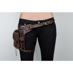 A Classy Replacement for the Fanny Pack A Holster Neatorama ❤ liked on Polyvore featuring weapons, belts, accessories and bags
