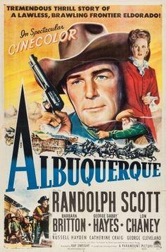 'Albuquerque', 1948, Randolph Scott