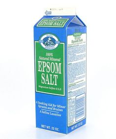 ***Epsom Salt: Great for soaking in a bath or just soaking your feet. Healthier than bubbles or other  soap products that may have chemicals. I've heard adding lemon juice to the bath is also beneficial. It's also a great moisturizing body, foot and lip scrub when mixed with Olive Oil.