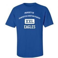 Manchester Christian Academy - Manchester, GA   Men's T-Shirts Start at $21.97