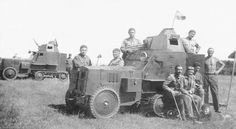 Wz.28 - Polish armoured halftrack car