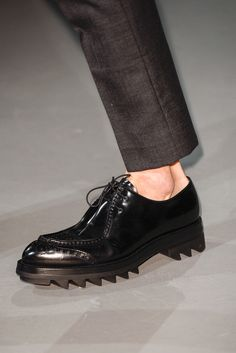 not the shoes just the runged sole (Prada)