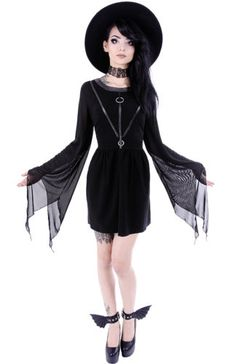 Restyle-Tunika-Kleid-Gothic-Witchy-Dress-Nugoth-Coven-Tunic-Harness-Nugoth-WGT
