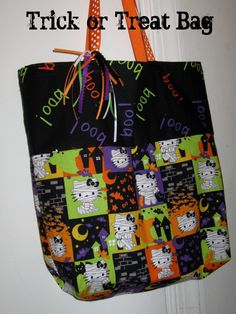 The Family Scientista: Trick-or-Treat Bag Tutorial