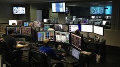 SpaceX control room