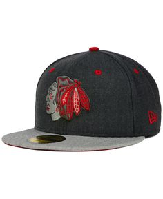 New Era Chicago Blackhawks Graph It 59FIFTY Cap Chicago Blackhawks 495f1ab67656