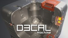 DECALmachine is a blender addon - a set of tools to simplify and automate working with mesh based decals, which in turn facilitates quick design thinking, iteration and exploration. It does all that in a very non-committal, non-destructive way. DECALmachine is supposed to be used with Blender's Cycles renderer. Check out the release trailer, the 1.3.5. trailer and crate demo above or on youtube. INSTALLATION. See the installation guide for instructions. Go over the detailed documentation,...