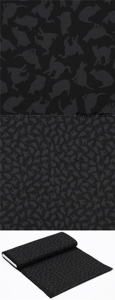black with dark grey cat silhouette fabric by Timeless Treasures - Kawaii Fabric Shop Michael Miller, Halloween Fabric, Textiles, Cat Silhouette, Grey Cats, Cat Sitting, Fabric Shop, Hocus Pocus, Dark Grey