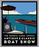 Geneva Lakes Boat Show Poster Store, Lake Geneva, Badger, Travel Posters, Lakes, Wisconsin, Digital Prints, Boat, Park