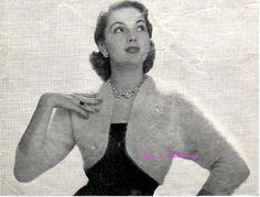 Hey, I found this really awesome Etsy listing at https://www.etsy.com/listing/154875287/vintage-1950s-angora-bolero-shrug-and