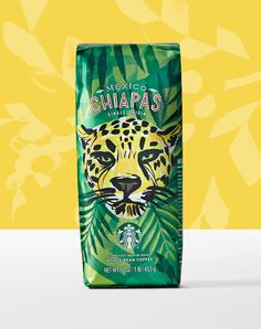 Mexico Chiapas ○ This single-origin coffee is well-rounded and lively with notes of cocoa and nuts. Tea Brands, Chocolate Packaging, Coffee Packaging, Blended Coffee, Coffee Roasting, Starbucks Coffee, Coffee Love, Bottle Design, Packaging Design Inspiration