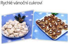 Rychlé vánoční cukroví
