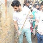 Hero Ram Swachh bharat event at Srinagar colony