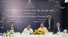 Dr. Mahesh Sharma chairs first meeting of National Medical & Wellness Tourism Promotion Board   TRAVELMAIL