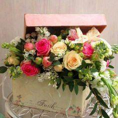 vintage flower arrangement ideas - Google Search