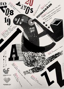 Guimarães Jazz Posters   feel desain — Designspiration