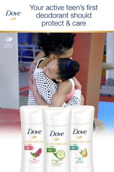 Your active daughter needs an effective first deodorant that's gentle on her skin. Dove Advanced Care gives her sweat & odor protection plus ¼ moisturizers. That's care you can count on. Dove Deodorant, Dark Art Illustrations, Clean Freak, Care About You, Sport Girl, Good Advice, Makeup Tips, Daughter, Things To Come