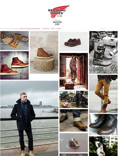 mens boots from redwing