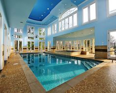 Traditional Pool Indoor Pool Design, Pictures, Remodel, Decor and Ideas