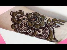 #hennaforhair #naturalhenna beautiful easy mehndi design- Latest Arabic henna design- तीज त्यौहार मेंहदी डिजाइन by SurAbhi