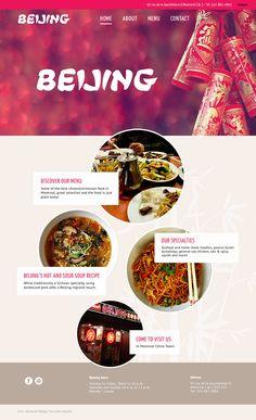 Restaurant Beijing on Behance