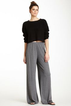 Wide Easy Knit Pant on HauteLook