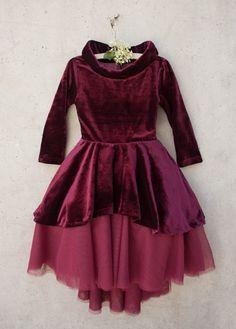 Nina Velvet Dress | Return To Eden Children's Boutique