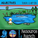 Adjectives - Task Cards - parts of speech