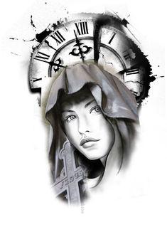 Tattoo Animal, Tattoo Designs, Ink, Animals, Jesus Tattoo, Black And Grey Tattoos, Solid Black Tattoo, Angels, Tatoo
