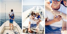 Florida wedding & engagement photography | Elizabeth Davis Photography | beach and boat engagement session. Couple at St. George Island go for a boat ride. Click here to see all the photos from their session: http://elizabethdavisphotoblog.com/john-coley-engagement-photos/