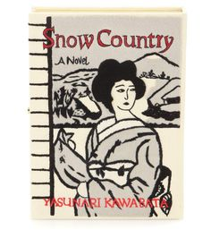 OLYMPIA LE-TAN Snow Country Book Clutch. #olympiale-tan #bags #lining #clutch #cotton #hand bags #