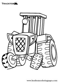 Activities for kids tractors and for kids on pinterest for Tractor coloring pages for toddlers