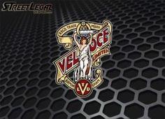 """Veloce 6½"""" Vintage Motorcycle Vinyl Decal"""