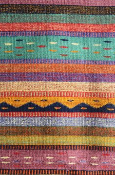 Las Montañas Handmade Wool Mexican Carpet Wool Carpet, Loom, Exotic, Textiles, Handmade, Beautiful, Style, Art, Swag